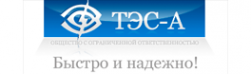 Логотип компании ТЭС-А